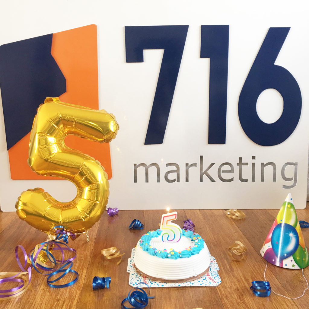 716 Marketing Celebrates 5 Years in Business